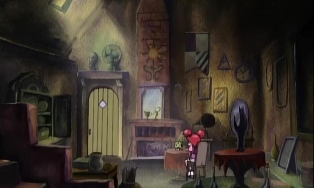So sah der Laden aus, bevor die Hexenschülerinnen umdekoriert haben.